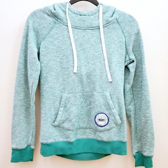 Roxy | Blue Green Scuba Hoodie